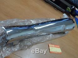 NOS OEM Suzuki Chrome Muffler Cover 1980-1983 GS750 GSX750 GS1100 14780-49202