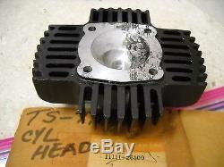 NOS OEM Suzuki Cylinder Head 1974-1977 TM75 TS75 Mini-Cross 11111-26100