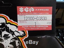 NOS OEM Suzuki Engine Top End Kit STD 1986-2001 RM80 Off Road 12100-03830