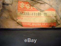 NOS OEM Suzuki Second Muffler 1979 RM80-N Off Road 14330-46900