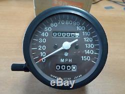 NOS OEM Suzuki Speedometer Assy 1974-1977 GT380 GT250 GT550 Indy 34110-33634