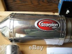 NOS Scorpion Exhaust System 2008 Suzuki GSX1300R 16ESL100CFO