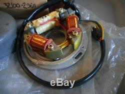 NOS Suzuki 73-76 TS185 OEM Magneto & Stator Assembly 32100-29611 32102-29612
