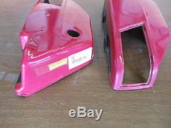NOS Suzuki 74 GT250 Left Side & Right Side Cover 47211-18600-715 47111-18630-965