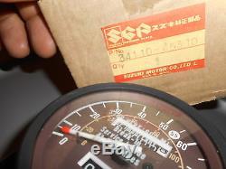 NOS Suzuki 80-81 GS850 81 GS1000 GS OEM Speedometer Speedo Assembly 34110-45310