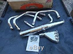 NOS Suzuki GS750 MCM 4 into 1 Exhaust System Pipes SU-750 QTS & OS