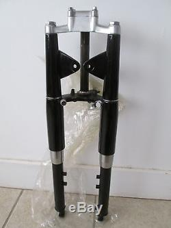 NOS Suzuki OEM Black Front Fork Assy 1965 K10 2 Stroke Sport 80 51100-01982