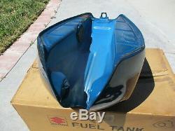 NOS Suzuki OEM Blue Fuel Tank Assembly 1980 GS1000 GT GS1000GT 44100-45150-08D