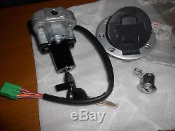 NOS Suzuki OEM Ignition Gas Cap Lock Key Set 2000 GSXR1300 Hayabusa 37000-24810