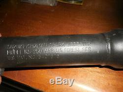 NOS Suzuki OEM Muffler Spark Arrestor KS 250 KTM 250 3407575 14303-46600