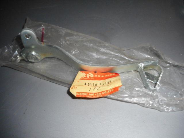 Nos Suzuki Rm250 Rm370 Rm400 1976-1978 Oem Brake Pedal 43110-41202