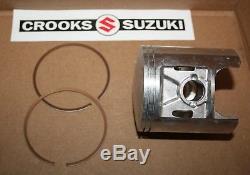 NOS Suzuki RM370 +. 75mm Suzuki Piston & Ring Set, 12110-41791 & 12140-41791