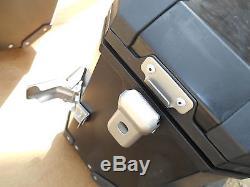 NOS Suzuki Removable Aluminum Side Case Set 12 V-Strom (DL650A) 990D0-ALSCE-NAR
