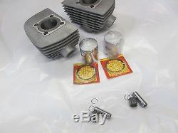 NOS Suzuki T200 tc200 NOS L. H. And R. H cylinder set 1968-1969