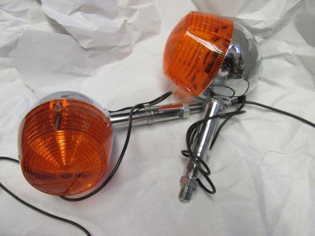 Nos Suzuki T500 T250 T350 T305 Nos Rear Turn Signal Set 1968-1975