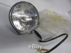 NOS Suzuki TC120 TC90 TS90 T125 ts250 nos headlamp assy 6volt 25w