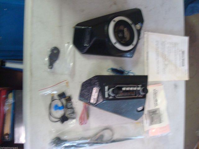 Nos Vetter Radio Quick Silver Fairing Honda Kawasaki Suzuki Yamaha