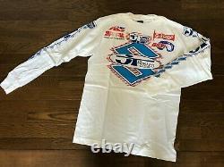 NOS Vintage JT RACING USA Motocross Jersey Size M SUZUKI 80's NOS