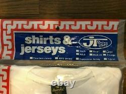 NOS Vintage JT RACING USA Motocross Jersey Size M SUZUKI 80's Unopened