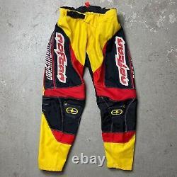 NOS Vintage No Fear Team Sobe Suzuki Motocross Pants 28 -pastrana millsaps fox
