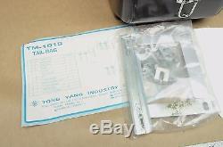 NOS Vtg Emgo Honda Yamaha Suzuki Kawasaki Luggage Rack Carrier Trunk Lock Box