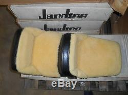 NOS Westerner Black Leather & Wool Suzuki 1980 GS750E GS1100E 2318 29-1920