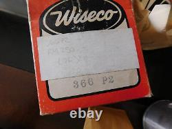 NOS Wiseco 1976 Suzuki RM250 RM 250 Piston Circlips 366P2 366 P2 0.20 O/S 70.5mm