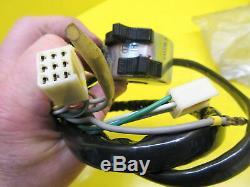 New Oem Nos Suzuki Ts 185/250 Left Handlebar Horn Headlight Turn Signal Switch