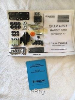 Nos Genuine Suzuki Gsf1250s Lower Fairing Set Gsf 1250 S Bandit