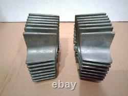 Nos Genuine Suzuki T125 Wolf Stinger Set Left Right Cylinder Head Made In Japan