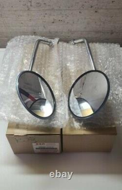Nos Oe Suzuki Gt 380- Gt 500- Gt 750 Rear Wiew Mirror L/r Assy