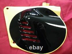 Nos Oem 76-78 Suzuki Rm125 Rm100 Left Side Panel Number Plate 47211-41300-019