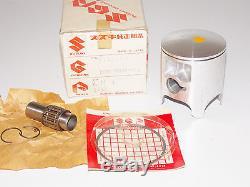 Nos Oem Suzuki 1987 1988 Rm250 Std Piston Kit Ring Bearing Pin Clips 12101-00840