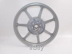 Nos Oem Suzuki 400gs 400 Gs Rear Melber Alloy Wheel Silver Rim 18 Wm 3