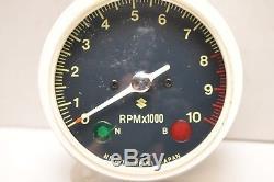 Nos Oem Suzuki Tach Tachometer 34200-33710 Gt550 1972 1973 Indy ++