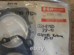 Nos Suzuki Gasket Set 1988-1990 Gsxr 750 1989-1997 Gsx 750 11401-17836 New Oem
