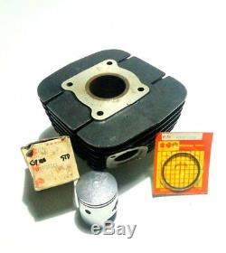 Nos Suzuki Gp100 Cylinder Block Cylinder Barrel Jug Piston Ring Genuine Japan
