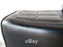 Nos Suzuki Gp100 Gp125 Seat Assy Rare Good Leather Plate Rim