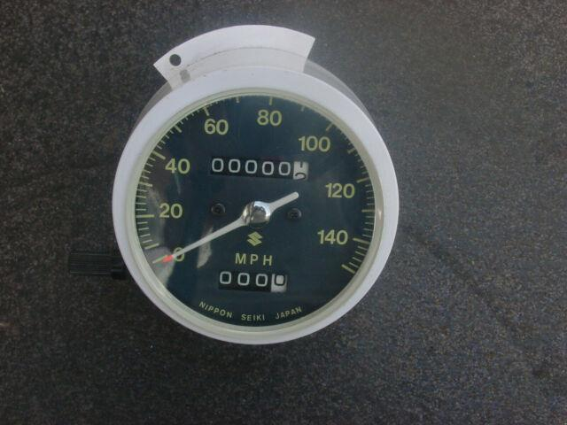 Nos Suzuki Gt550j 380j Gt 250 New Old Stock Speedometer Part Number 34100-33611