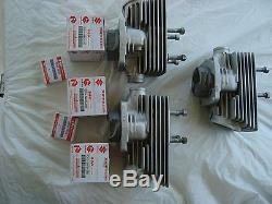 Nos Suzuki Gt Piston And Cylinders Set