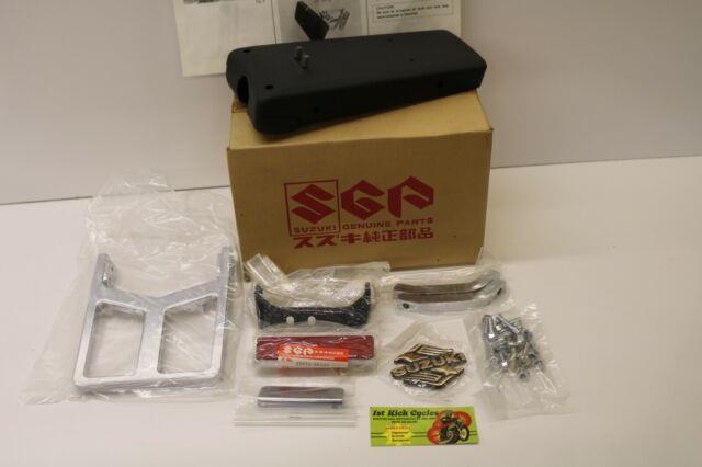 Nos Suzuki Intruder Vs1400 Rear Carrier Rack Sissy Bar Set 46300-38820 Oem
