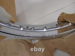 Nos Suzuki T500 Gt550 Gt750 Ts250 Genuine Front Wheel Rim 1-85 X19 55311-15020