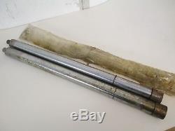Nos Suzuki T500 T 500 1968-75 Front Fork Inner Tubes 1 Pair 51110-15010
