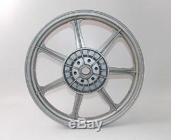 Nos Vintage Rear Alloy Wheel Silver Rim 18 1.85 Wm3 Disc Brake Suzuki Ducati