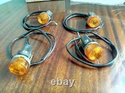 Nos-suzuki-pe-t/x-175/250/400-1980-1981-turn-signal-lamp-assy-x4-parts-35601-414