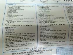 SUZUKI DR BIG 50 KIT CILINDRO Y PISTON 74cc AUTISA NIQ+SIL NOS FRANCO MORINI