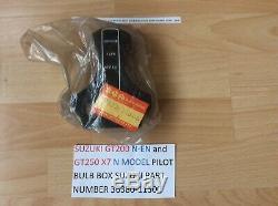 SUZUKI GT250 X7 GT200 X5 NOS PILOT BULB BOX PT NO 36380-11300 FACTORY NEW WithTAG