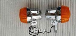 SUZUKI GT380 GT550 GT750 1970s ORIGINAL NOS PAIR OF TURN SIGNAL LAMP