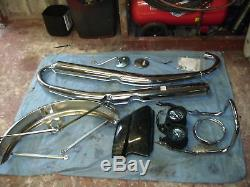 SUZUKI GT380 GT 380 J 72 kh triple period classic + nos parts must see L@@K