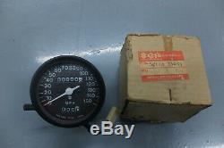 SUZUKI GT550, GT380, GT250, NOS speedometer, 34110-33634, NEW, OEM, Genuine Suzuki